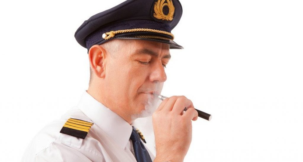 can you vape on a plane