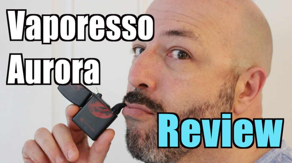 Vaporesso Aurora Review : Zippo Lighter Vape! | Vaping411